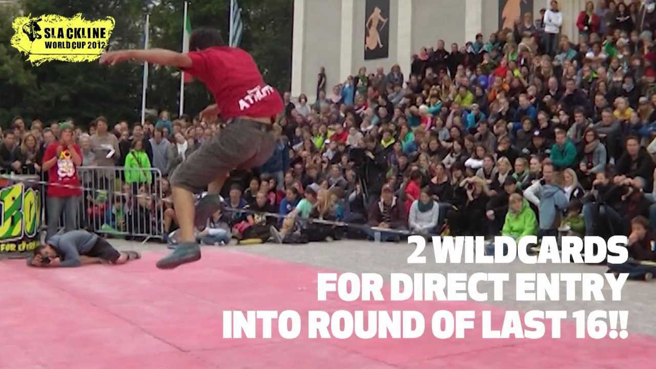 Munich Sportfestival - slackline worldcup - Gibbon Slacklines